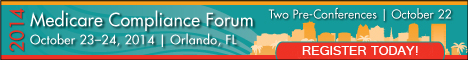 Medicare Compliance Forum