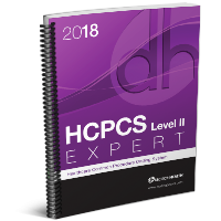 2018 HCPCS Level II Expert