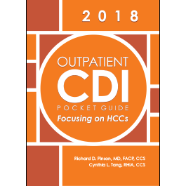 Outpatient CDI Pocket Guide: Focusing on HCCs - eBook