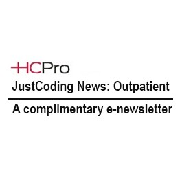 JustCoding News: Outpatient