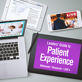 Leaders' Guide to Patient Experience