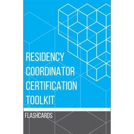 Residency Coordinator Certification Toolkit