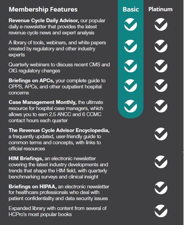 Revenue Cycle Advisor Chart